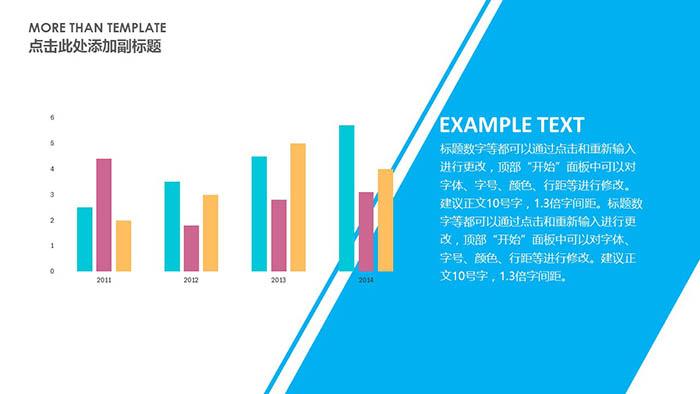 欧美风格高质量工作汇报PPT模板