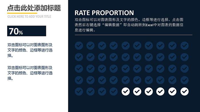 欧美大气办公室产品介绍PPT模板