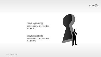 个人银行/安全管理PPT素材