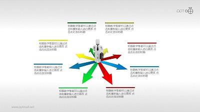 一位职场人士的N种选择2.0 PPT素材下载