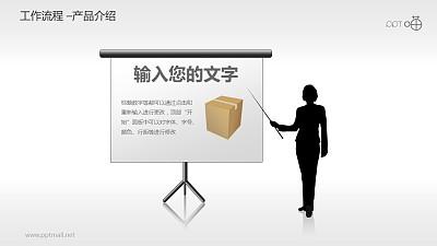 工作流程—产品介绍PPT素材
