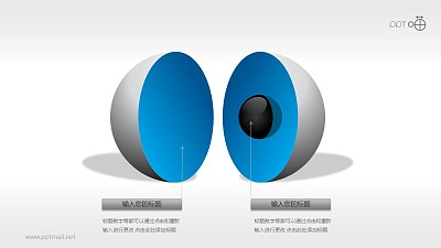 3D立体核心图(系列-02)PPT素材
