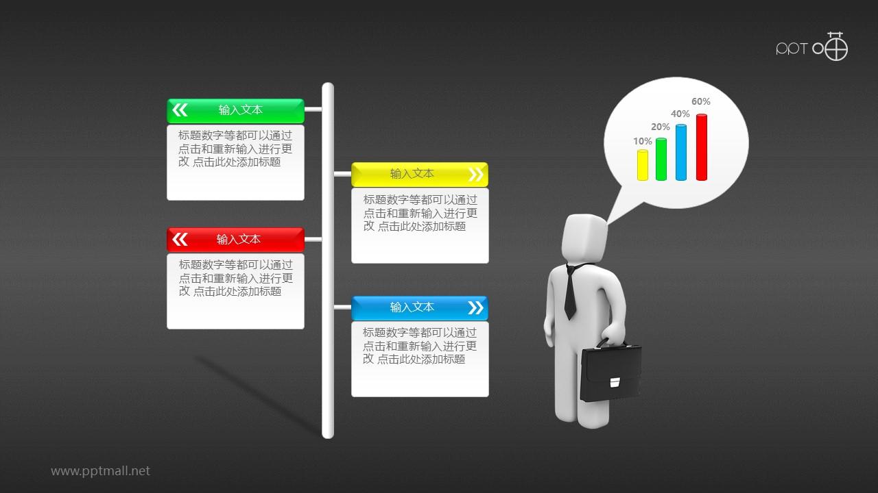 职业规划之择业选择PPT素材下载