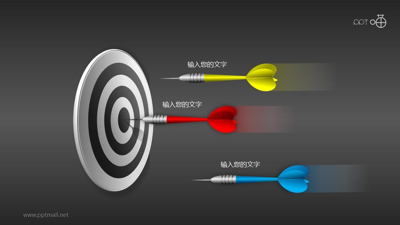 目标市场—决策与结果的PPT素材