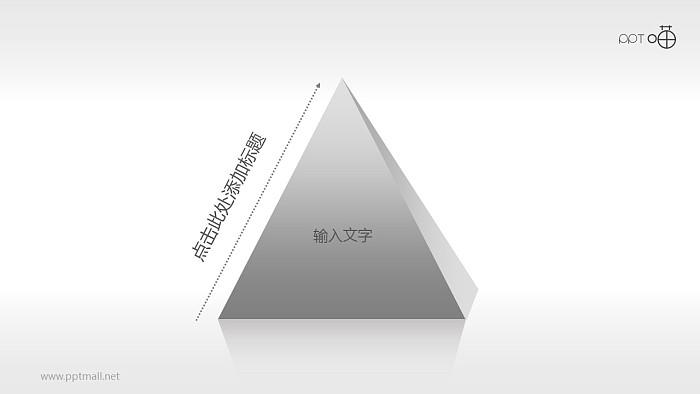 三角形PPT模板下载