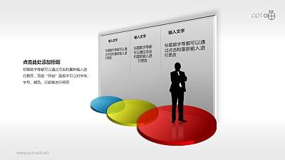 三步骤规划商务PPT模板下载