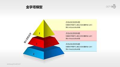 三层金字塔PPT下载