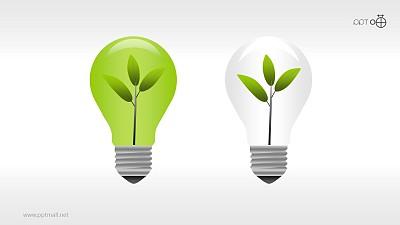绿色环保PPT素材(6)—清洁绿色能源