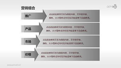 营销组合策略PPT素材(2)—目录页
