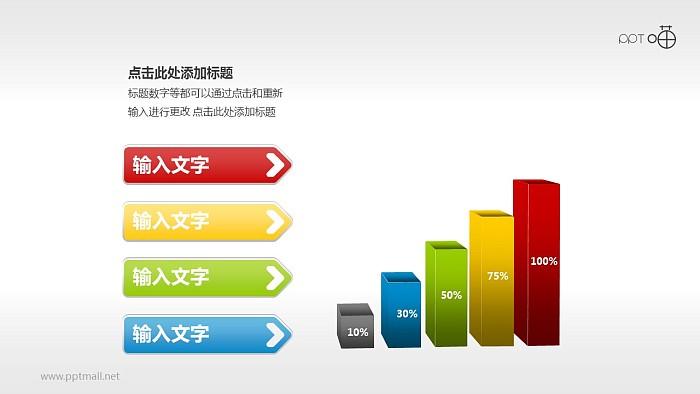 PPT图表PPT模板下载