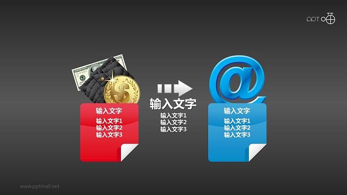 货币经济影响下的因特网PPT模板下载_幻灯片预览图2