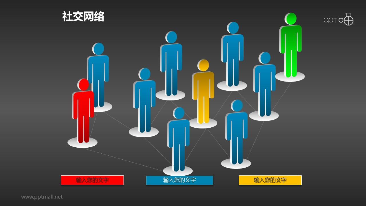 社交网络素材(3)-人脉网络