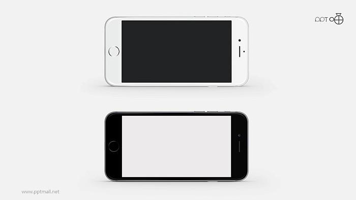 iphone6sPPT模板下载