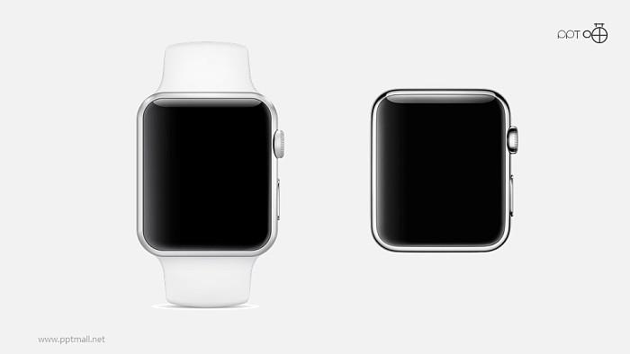 苹果手表PPT模板下载