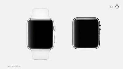 苹果iwatch高清质感无背景图片素材