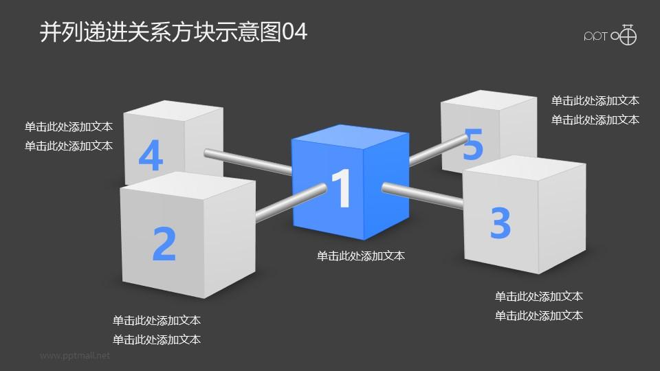 递进并列关系的金属棒-方块示意图04