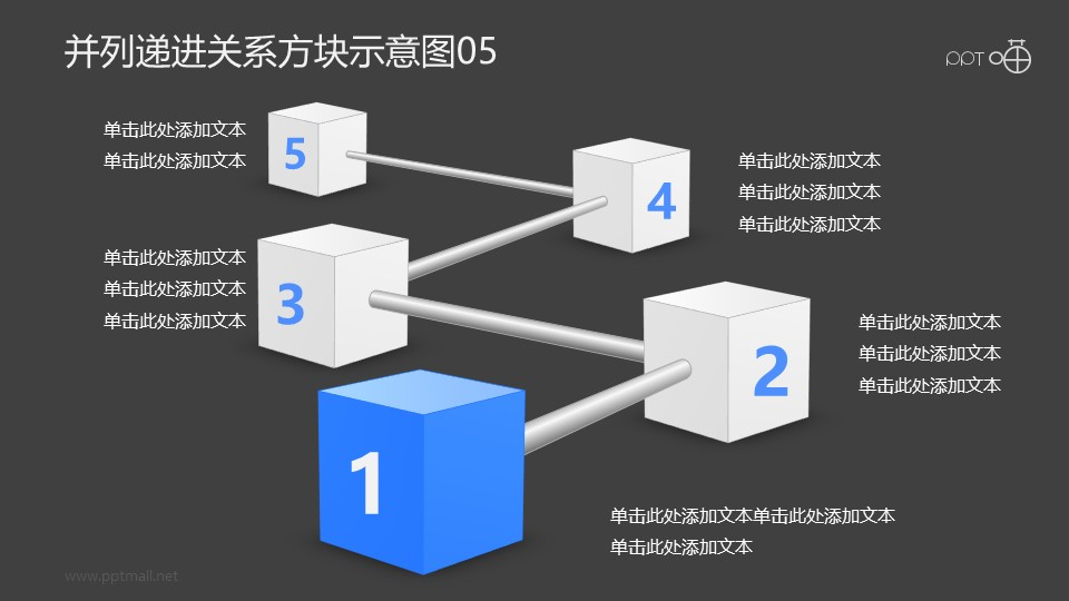 递进并列关系的金属棒-方块示意图05