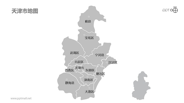 天津PPT模板下载