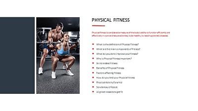 私人健身教练讲解图文PPT板式下载