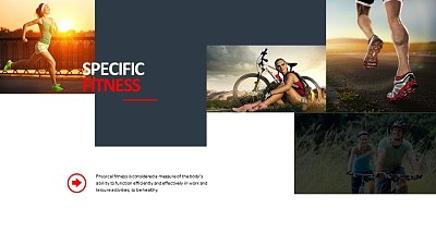 多图片自由排列的PPT素材下载