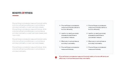 左右分布的PPT文字排版设计