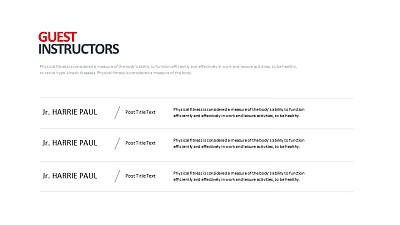 简约而个性表格PPT版式模板下载