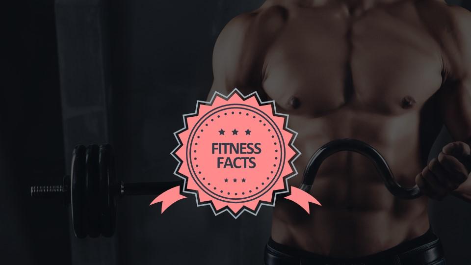 全图型健身背景PPT样式素材