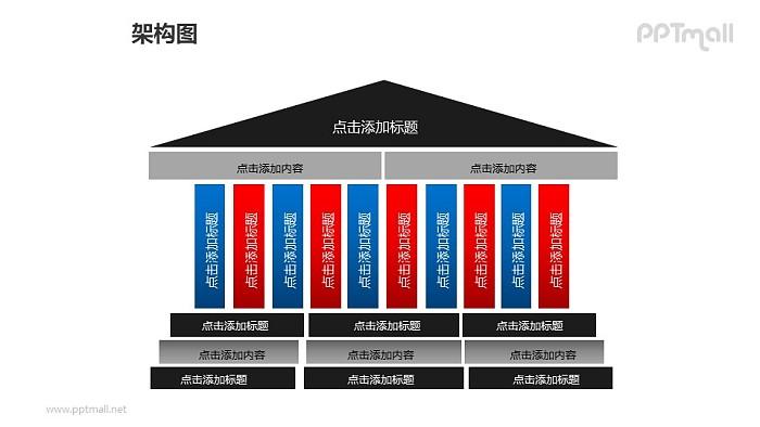 架构图PPT模板下载