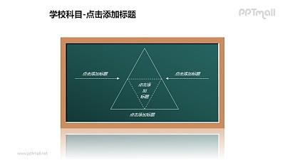 学校科目——三角形解析PPT图形素材