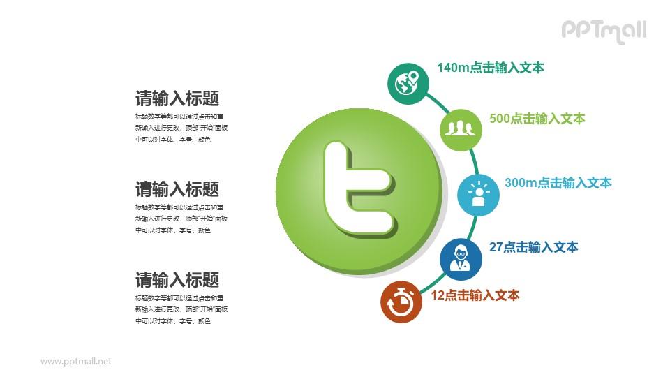 社交网络分析PPT素材下载