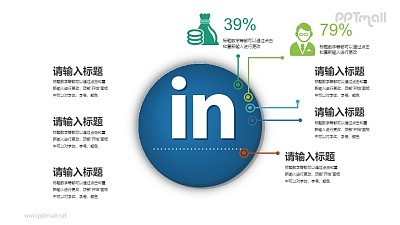 社交网络大数据分析PPT素材下载