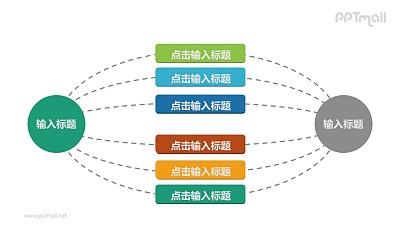 1-6-1总分总逻辑关系的PPT素材下载