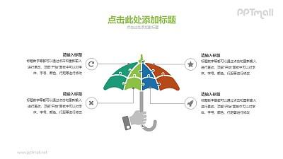 保护伞PPT素材下载