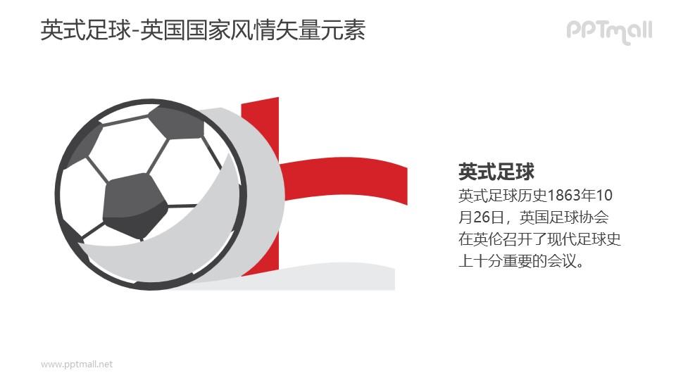 英式足球-英国国家风情PPT图像素材下载