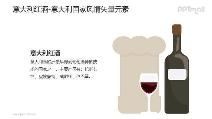 意大利红酒PPT模板下载