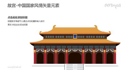 故宫-中国国家风情PPT图像素材下载