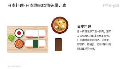 日本料理-日本国家风情PPT图像素材下载