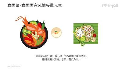 泰国菜-泰国国家风情PPT图像素材下载