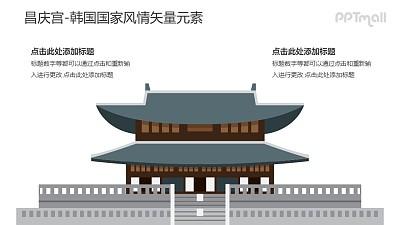 昌庆宫-韩国国家风情PPT图像素材下载