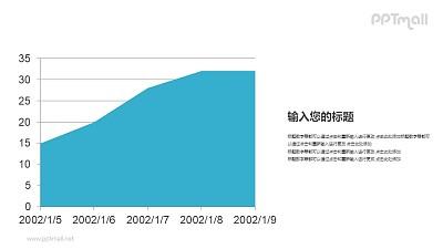 面积图PPT数据模板下载
