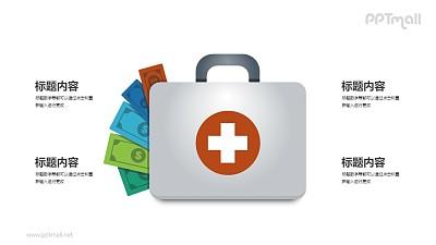 资金医疗包PPT图示素材下载