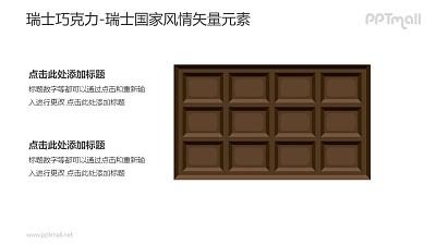 瑞士巧克力-瑞士国家风情PPT图像素材下载
