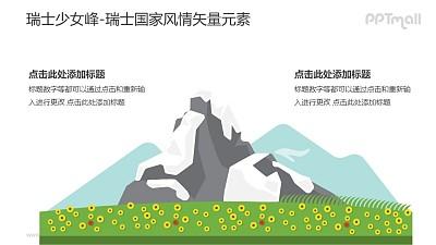 少女峰-瑞士国家风情PPT图像素材下载