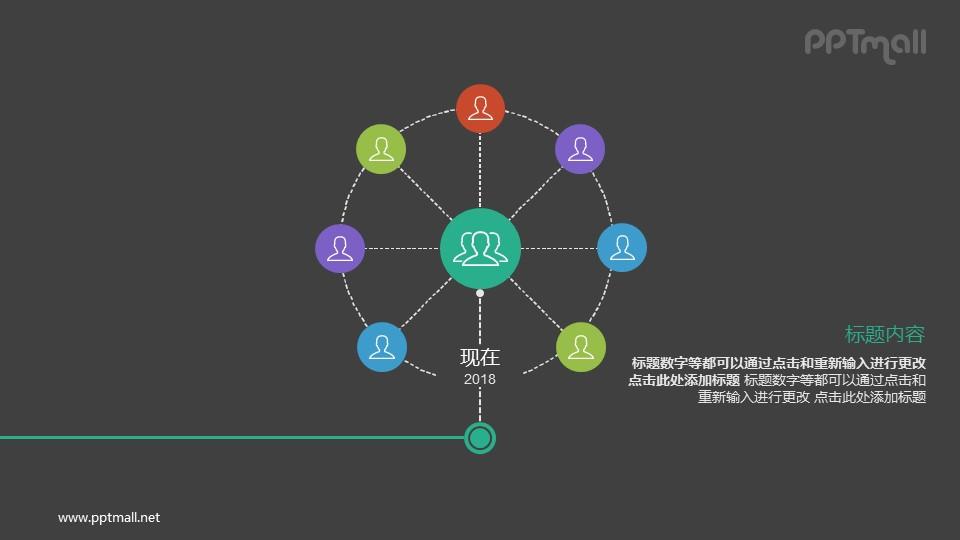 从出生到现在的成长历程PPT图示素材下载(下半部分)