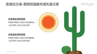 索诺拉沙漠-墨西哥国家风情PPT图像素材下载