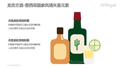 龙舌兰酒-墨西哥国家风情PPT图像素材下载
