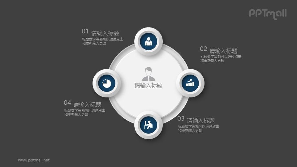 个人的能力构成介绍PPT素材图示下载