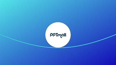 文字强调特效线上滚动的图形PPT动画模板素材下载